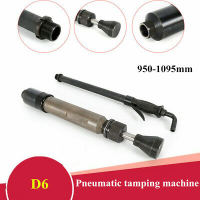 D6 Pneumatic Tamping Machine Earth Sand Rammer Air Tamper Hammer 1150mm 0.63Mpa