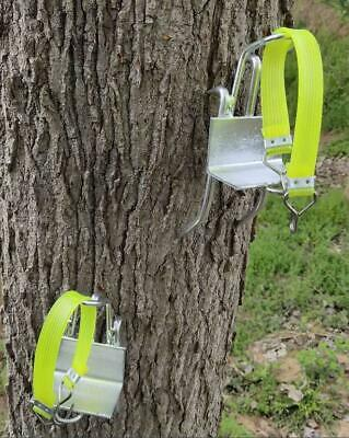 Tree Climbing Tool Pole Climbing Spikes Stainless Steel Climbing Shoes Simple US