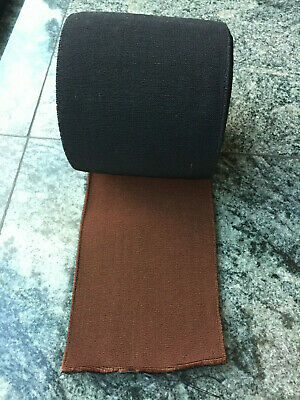 Vintage thick black/brown waistband elastic