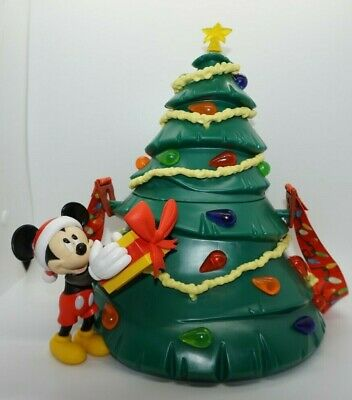Disney Parks 2019 Mickey's Christmas Tree Holiday Light Up Popcorn Bucket