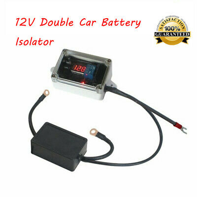 12V Car Double Battery Isolator Protector Auto Dual Battery Smart Controller