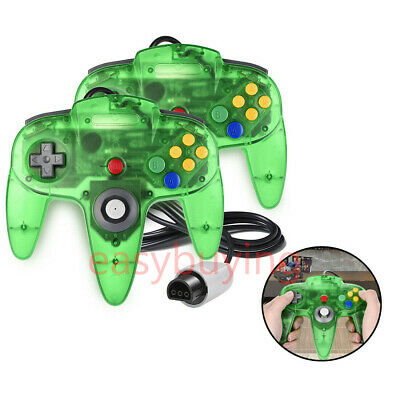 Wired Controller Gamepad Joystick &  Extension Cable for N64 Console and System