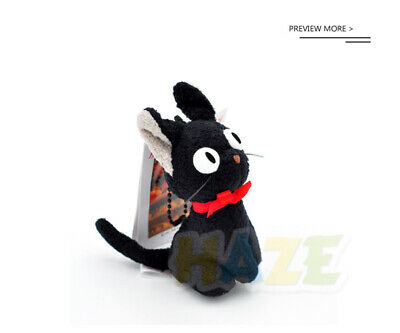 Anime Kiki's Delivery Service Plush Doll Pendant Keychain 9cm key Chain Gift New
