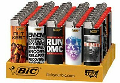BIC Special Edition Music Legends Series Lighters, 50-Count Tray