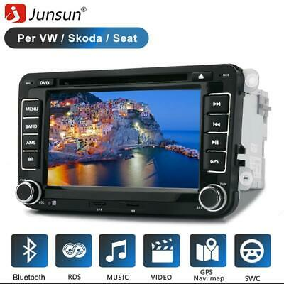 2din Autoradio GPS Navi DVD Bluetooth per VW Golf 5 PASSAT CADDY POLO + fotocame