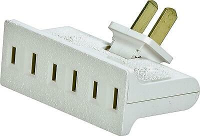 Eaton Wiring Devices BP1792W-SP Non-Grounded, Swivel Outlet Adapter, 15 A, 2-Pol