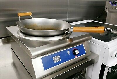 Commercial Induction Hop 3kw, Come With Wok.