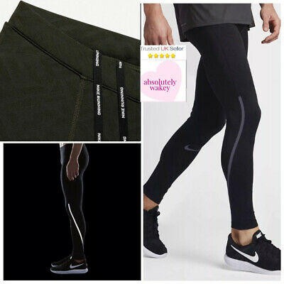 Nike Power City Running Gym Compression Football Training Tights