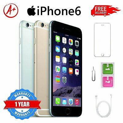 Apple iPhone 6 - 16GB 64GB 128GB - Unlocked SIM Free Smartphone Various Colours