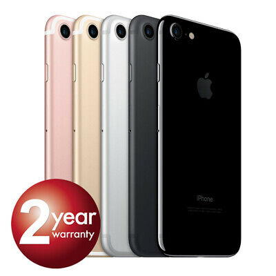 NEW Apple iPhone 7 128GB 32GB Factory Unlocked Smartphone Various Colour