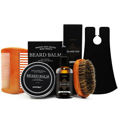 Beard Whole Kit for Men- Beard Oil - Grooms Beard, Mustache, Boosts Hair Growth