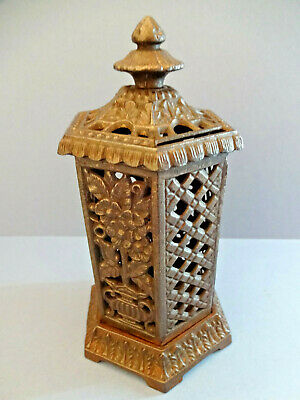 ANTIQUE VICTORIAN FREE STANDING CHILD'S CAST IRON MONEY BOX, c 1876-1880.