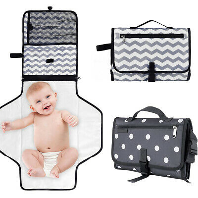 Baby Storage Portable Foldable Travel Diaper Changing Mat Pad Storage Nappy