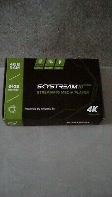 Skystream3 plus streaming media player