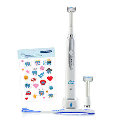 Official Seller Triple Bristle Rechargeable Kid's Toothbrush