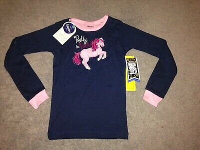 Hatley Pony Pyjama Top Only. Age 10 Pretty In Pink Pony Horse