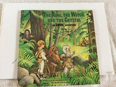 Random House - The Ring, The Witch and the Crystal an Ewok Adventure book 1986