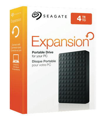 Seagate 4TB Expansion Portable Hard Drive - Brand New