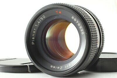 **Exc+++++** Contax Carl Zeiss Planar T* 50mm f1.4 MMJ CY Mount Lens #822