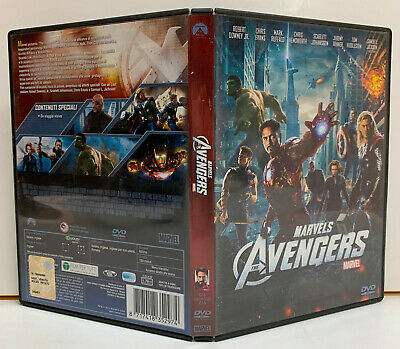 09836 DVD - The Avengers (2012) - Downey Jr. / Evans / Ruffalo / Johansson