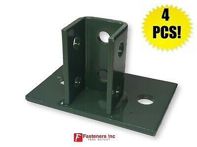 #4768 P2942 6 Hole Post Bases for Unistrut B-Line Channel Box of 4