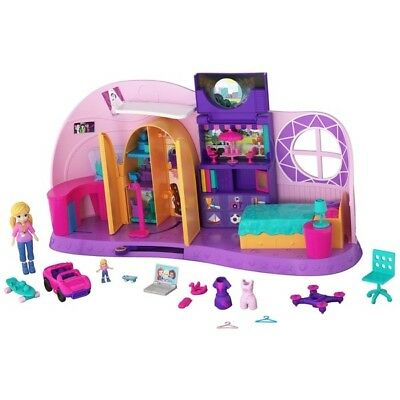 Polly Pocket Go Tiny Room Playset - New