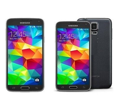 Samsung Galaxy S5 SM-G900A 16GB For AT&T T-Mobile GSM World Unlocked Cell Phone