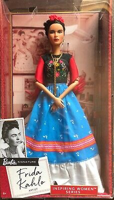Frida Kahlo Mattel Barbie Doll Inspiring Women Series Mexican Artist