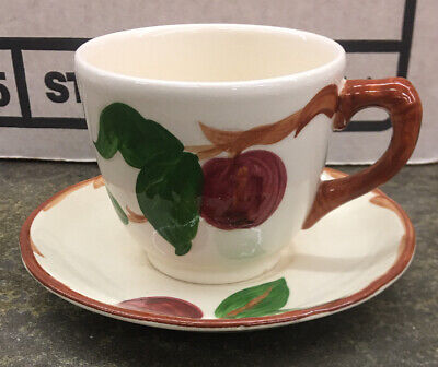 Franciscan Apple Tea Cup & Saucer Dinnerware Made in The USA (More Available)