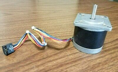 Stepper Motor w/wire harness Type 57BYG 059 NEMA 23 1.8Deg/Step
