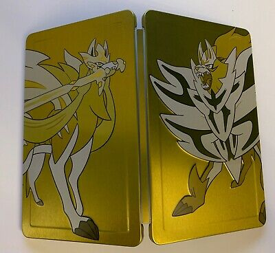 Pokemon Sword and Pokemon Shield Dual Pack NEW STEELBOOK ONLY. NO GAME