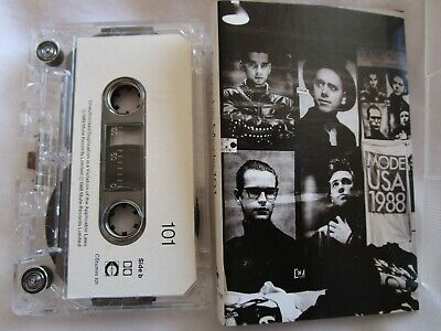 Depeche Mode ‎– 101 Label: Mute Records CSTUMM101 Audio Tape Cassette Album