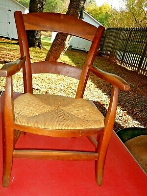 Vintage, Hand Made Child's Wooden Chair