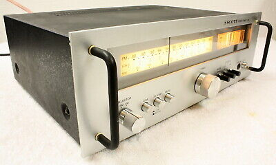 SCOTT T-526 Stereo AM/FM Tuner-Serviced & Working Well
