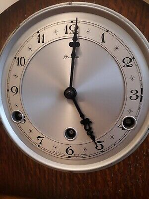 Bentima Westminster  Chimes Mantel Clock (Working / Used) with pendulum and key