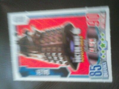 Doctor Who limited edition Dalek card 50 anniversary