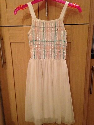 Bnwt River Island Girls Party Occasion Dress Age 5 Years £32