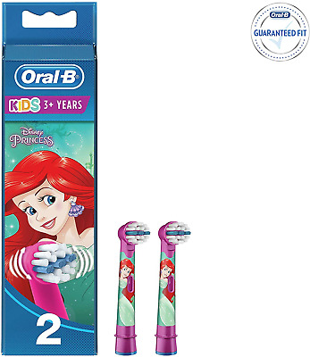 Oral-B Genuine Kids Stages Disney Cars Replacement Red Toothbrush Heads, Refills