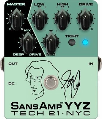 Tech 21 Geddy Lee Signature SansAmp YYZ