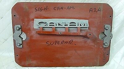Can-Am Fire Engine Wood Foundry Mold Truck Vintage Pattern Steampunk Industrial