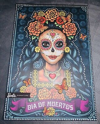 Dia De Los Muertos Barbie Day Of The Dead Doll! 2019 Sold Out!! New In Box