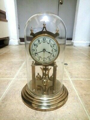 Vintage Kundo Kieninger Obergfell 400 Day Anniversary Clock-No Key. As Is