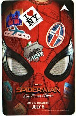 CAESARS PALACE casino**SPIDERMAN far from home*  2019*LV key card FAST SHIPPING