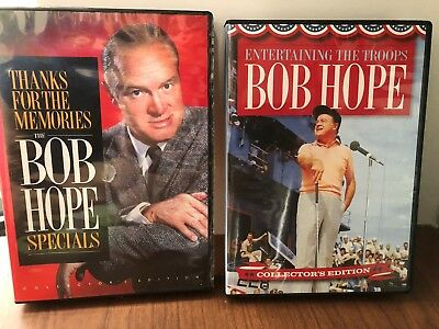 Bob Hope Thanks For The Memories Specials & Entertaining The Troops Dvd Sets