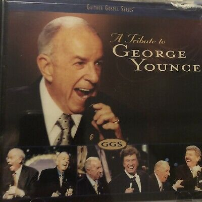 "SEALED CD Gaither Gospel Series ""A Tribute To George Younce"" Cathedrals"