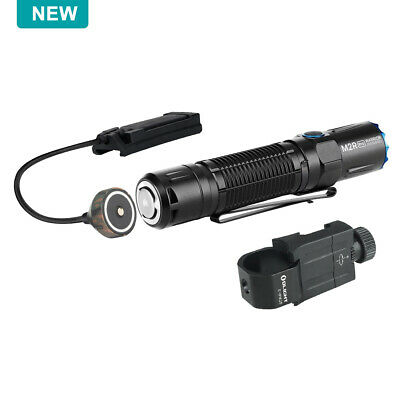 OLIGHT M2R PRO Warrior 1800 Lumen Tactiacl Flashlight+Remote Switch+E-WM25 Mount