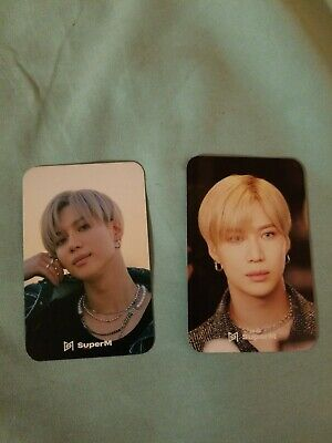 Taemin Superm We Are The Future Official Tour Photocard Set Card Us Seller