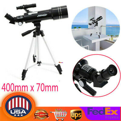 400mmx70mm 40070 Refractor Astronomical Telescope With Tripod For Beginners Gift