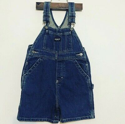 Osk Kosh Vintage Retro Denim Dungarees Overalls Size 18-24 Excellent Condition