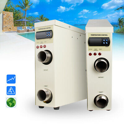 5.5KW Electric Swimming Pool and SPA Bath Heating Tub Water Thermostat swim
